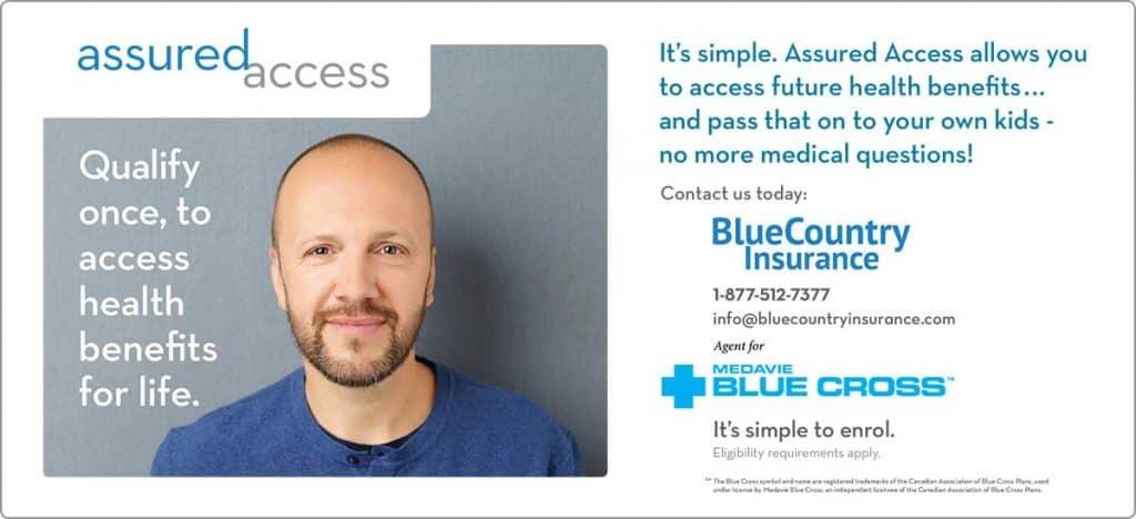 assured access blue cross blue country insurance