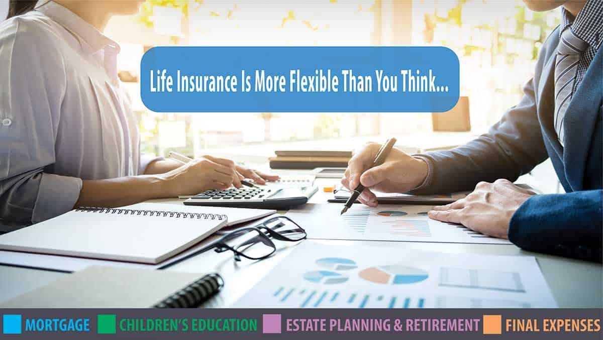 flexable life insurance Fredericton